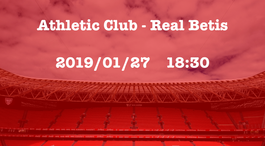 Athletic Club - Real Betis